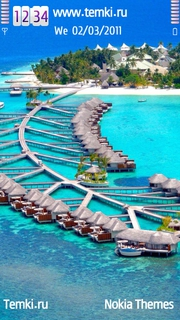 Мальдивы равным образом Отель вместе с Бунгало